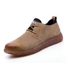 ROXDIA marka domuz cilt çelik toecap erkek kadın güvenlik botları artı boyutu 37-45 bahar sonbahar rahat hafif iş ayakkabısı RXM121(China)