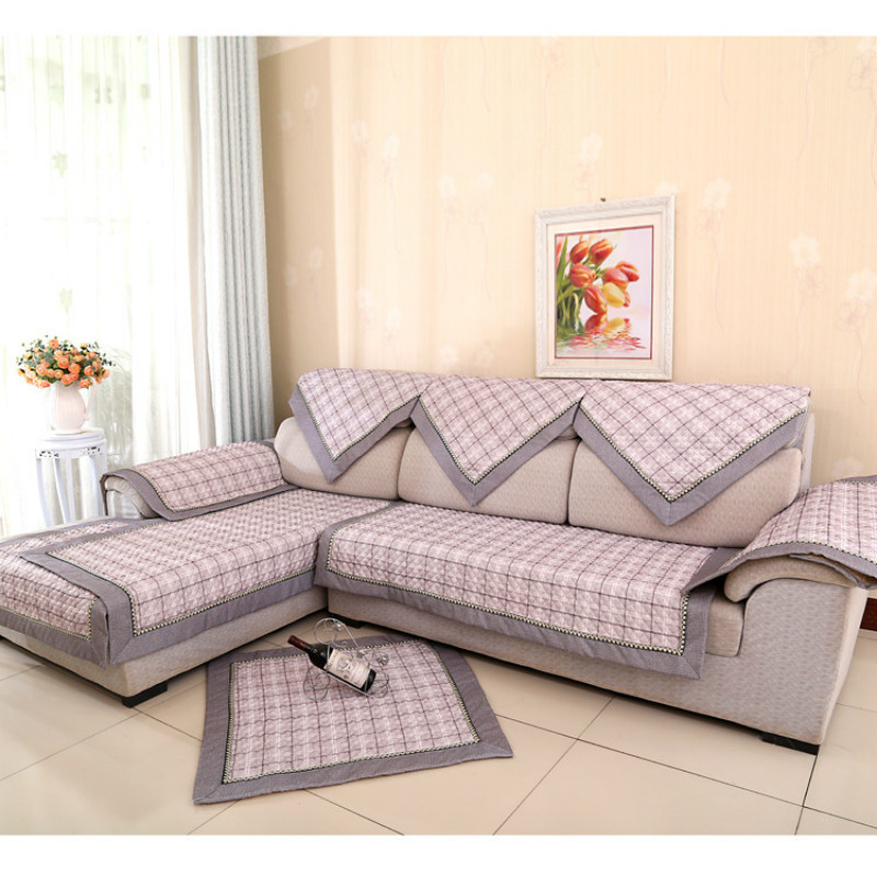 Aliexpresscom buy cotton sofa slipcover fabric cover for Decorative furniture covers