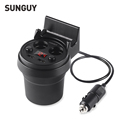 5V 3 1A Dual USB Car Charger Cigarette Lighter Adapter with LED display fast charger for