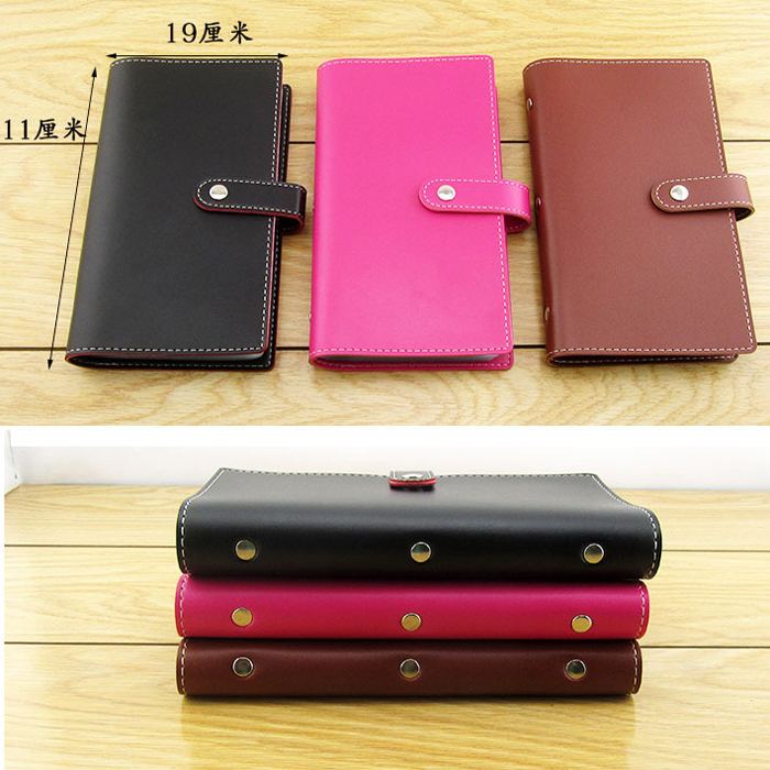ODEMA 120 Slots Card Holder Top Quality Genuine Leather Business Credit Card Case Women Men Card