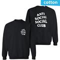Fashion street wear Brand ANTI SOCIAL SOCIAL CLUB men Hoodies Sweatshirts i feel like pablo anti