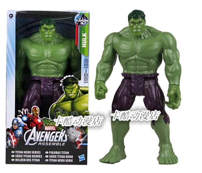 "Avengers Movie Hulk PVC Action Figures Collectible Toy 12""30CM(China (Mainland))"