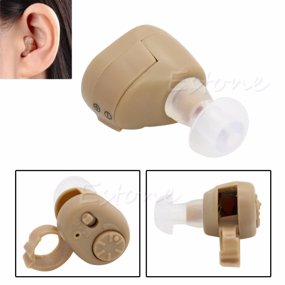 AXON K-86 Listening Mini Hearing Aid/Aids Ear Sound Amplifier Volume Adjustable