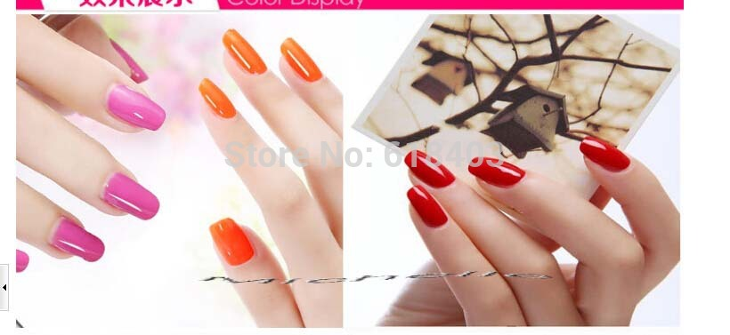 1pc 10ml nail gel polish makeup color change with temperature gel nail polish UV gel nail chameleon total of 36 colors