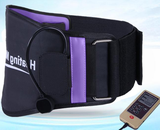 Between the waist dish outstanding belt strain of lumbar muscles lumbar traction electric therapy therapeutic massager(China (Mainland))