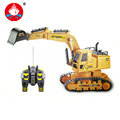 RC Truck 7CH Remote Control Rc Tanks Simulation Engineering Truck Excavator For Kids Christmas Gif Construction