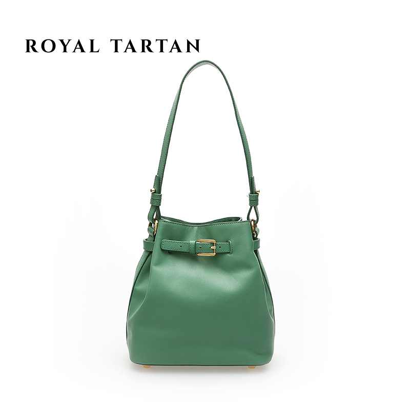 ROYAL TARTA Genuine Leather luxury small women Messenger bags 2016 famous brand designer Vintage bucket crossbody