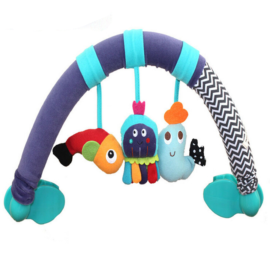 Crib Toys Learning : Buy bed stroller hanging plush vibration toy rattle