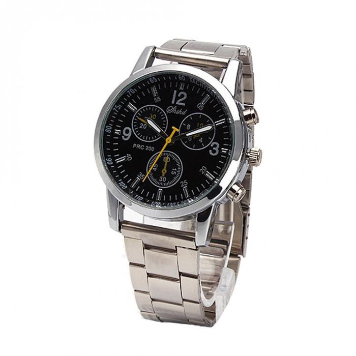 Высококачественная Нержавеющая Сталь Ремень Часы Бизнес Часы С Тонким Кварцевым Циферблатом Наручные Часы