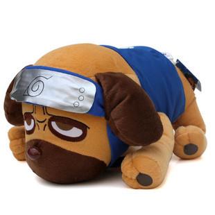 Free shipping New Anime Plush Toy Child's Xmas gift Naruto dog stuffed Doll Yokpoo Kakashi Parker dog Quality Children's Gift819(China (Mainland))
