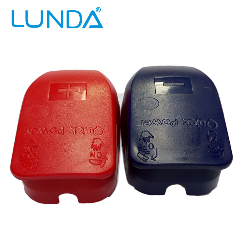 Battery Connector Battery Quick Disconnect Battery Quick Connector Battery Terminal Connector with Caps Top Posts Free Shipping(China (Mainland))