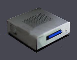 Mini itx aluminum computer case htpc aluminum computer case h112 silver&black(China (Mainland))