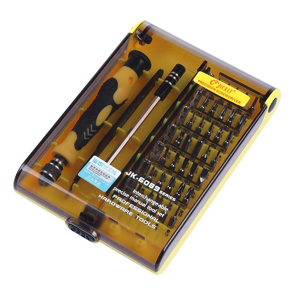 Гаджет  Screwdriver set 45 in 1 Multi-Bit Tools Repair Torx Screw Driver Screwdrivers Kit PC Phone multi tool ferramentas manuais None Инструменты