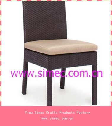 outdoor furniture rattan dining chairs SCRC-016 - Yiwu Simec Crafts Products Factory store