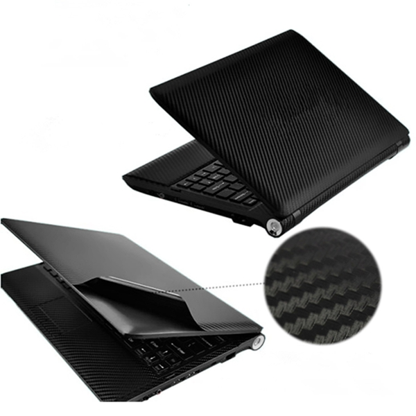 Wholesale Brand New Carbon Fibre Vinyl 17Notebook PC Laptop Skin Sticker Cover Decal Free Squeegee Printed 40cm*29 For Computer(China (Mainland))