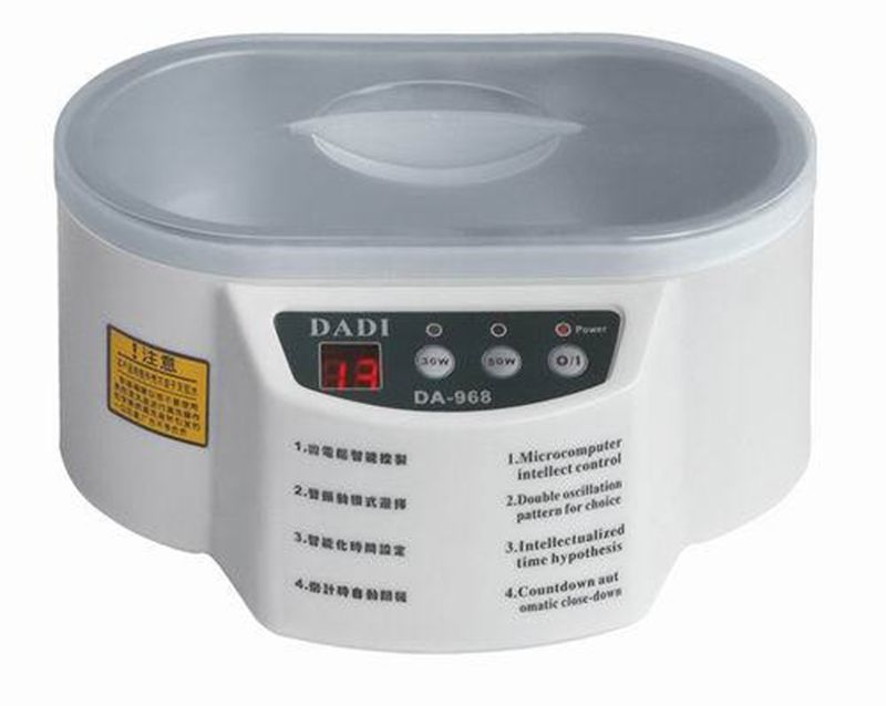 30W/50W Mini Ultrasonic Cleaner for Jewelry Glasses Circuit Board Watch CD Lens DA-968(China (Mainland))