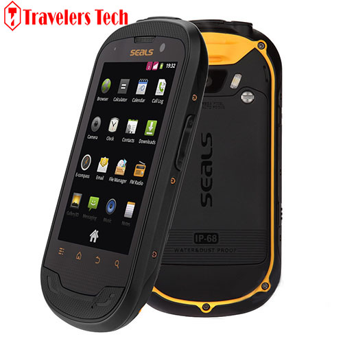 Original SEALS TS3 IP68 Waterproof Rugged Smartphone Dual SIM Card Android 3.5 Inch 5.0MP Camera GPS with Outdoor Tools(China (Mainland))