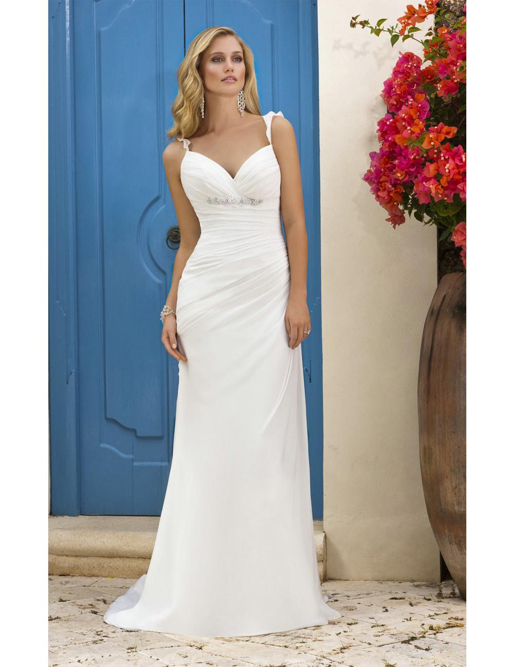 2016white country western wedding dresses 2015 elegant for Country western wedding dresses