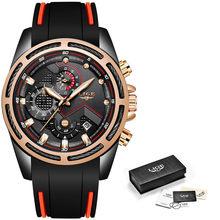 LIGE nouveau hommes montres haut de gamme marque hommes Unique montre de sport hommes Quartz Date horloge étanche montre-bracelet Relogio Masculino(China)