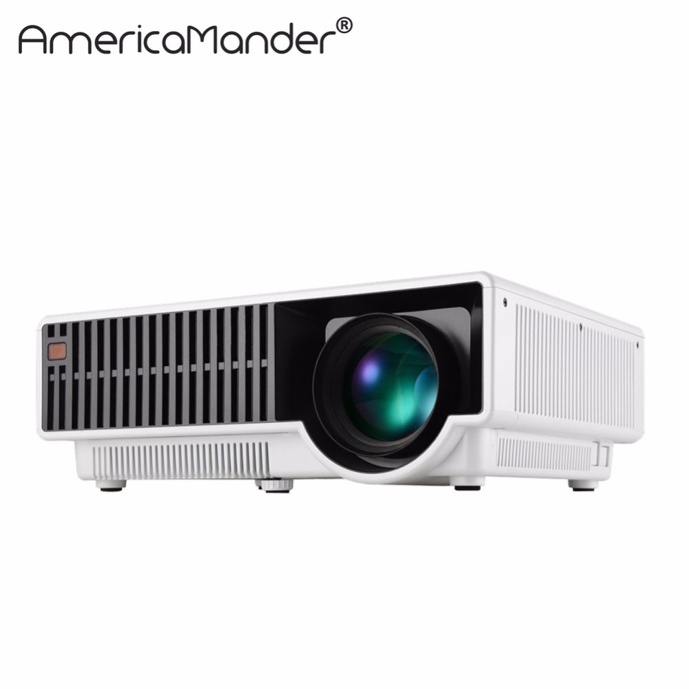 250inch screen Brightest 3000Lumen Full HD DLP Business Advertising Education data show 3D Projector Beamer Projektor Proyector(China (Mainland))
