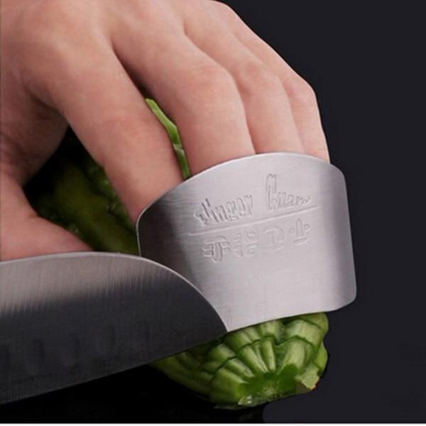 Бесплатная доставка Кухня Кулинария Инструменты Из Нержавеющей Стали Finger Ручной Предохранитель Протектора Персонализированные Дизайн Чоп Безопасный Ломтик Нож