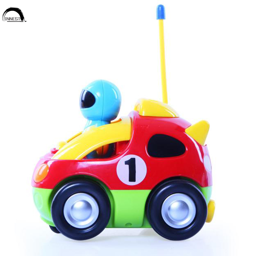 innest music fast cartoon rc race car for children toddlers rc racing car toy
