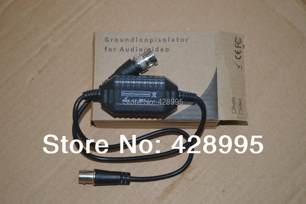 freeshipping 5pcs CCTV Camera Video Balun Ground Loop Isolator Coaxial Cable BNC Balun Connectors(China (Mainland))