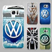 Buy Volkswagen vw bus Hard White Coque Shell Case Cover Phone Cases Samsung Galaxy S4 S5 S6 S7 Edge Plus for $1.49 in AliExpress store