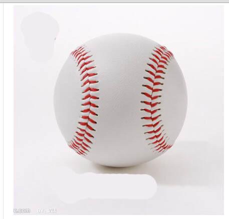 "Free Shipping 1 Piece 2.75"" New White Base Ball Baseball Practice Trainning Softball Sport Team Game .(China (Mainland))"