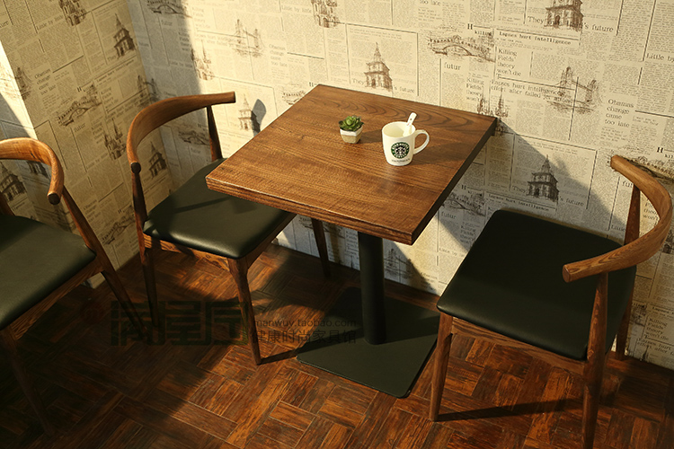 2015 Most Popular 100 Soild Wood Chair Table For Dining Room Restaurant