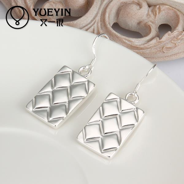 Hot sale fine Jewelry E376 2015 New supplies Silver Plated Women Earrings fashion high quality(China (Mainland))