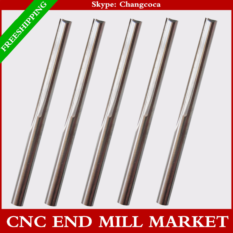 3.175mm*25mm,10pcs,CNC machine solid carbide end mill,woodworking milling cutter,2 Flutes straight end mill,Foam,EVA board(China (Mainland))