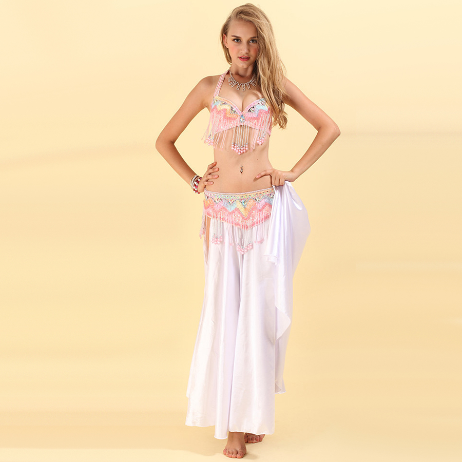 2014 new costumes for belly dance 2piece(bra+waist sealing) dance accessories pink almofada de pescoco free shippingОдежда и ак�е��уары<br><br><br>Aliexpress