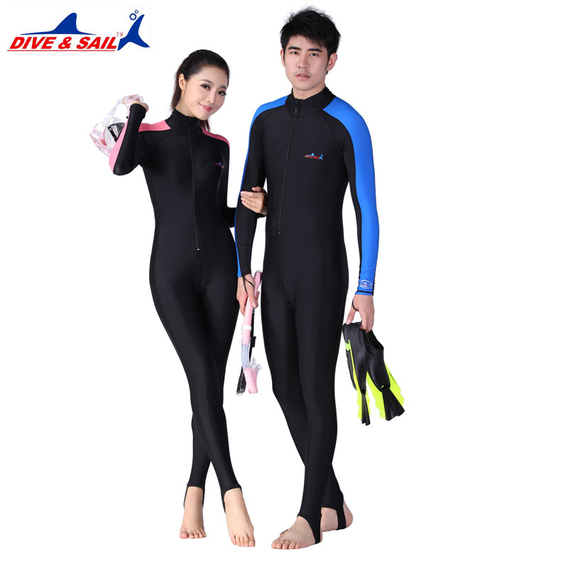 Lycra Scuba Dive Skins for Men or Women Snorkeling Equipment Water Sports Wet Jump Suits Jumpsuit Swimwear Wetsuit Rash Guards(China (Mainland))