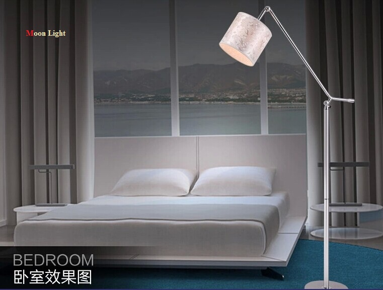 Fashion floor lamp modern floor lamp bedroom bedside creative lamps(China (Mainland))