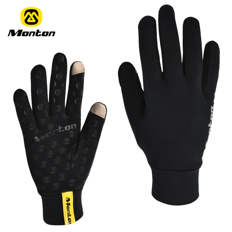 Monton mountain bike gloves male bicycle ride full female cycling spring autumn - A girl like store