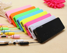 Fragrance Colorful Ultra slim Power bank 5600mAh Backup Mobile Charger PowerBank Indicator light for Cellphones 5V 1A(China (Mainland))