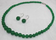 Atacado conjuntos de jóias para as mulheres choker anime belas quartzo pedra de gema natural 6-14mm red gem rodada beads colar brincos(China)