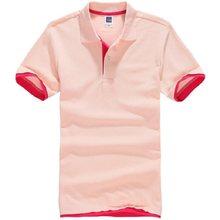 男性のポロシャツ綿の夏半袖カジュアル poloshirt ブランドジャージ男性 poloshirt カミーサ masculina 男性服(China)