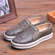 Tidog 2016 Korean men's low shoes loafer thick casual shoes(China (Mainland))