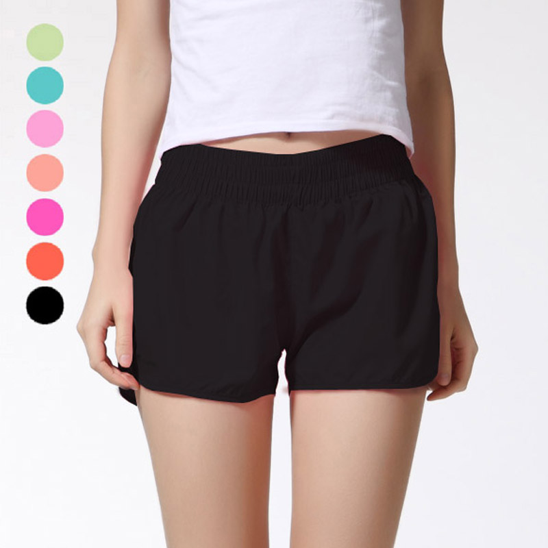 Shelikeit 2016 Wholesale All-purpose Summer shorts for womens thin Quick-Drying Elastic Waist Candy Colors plus size shorts