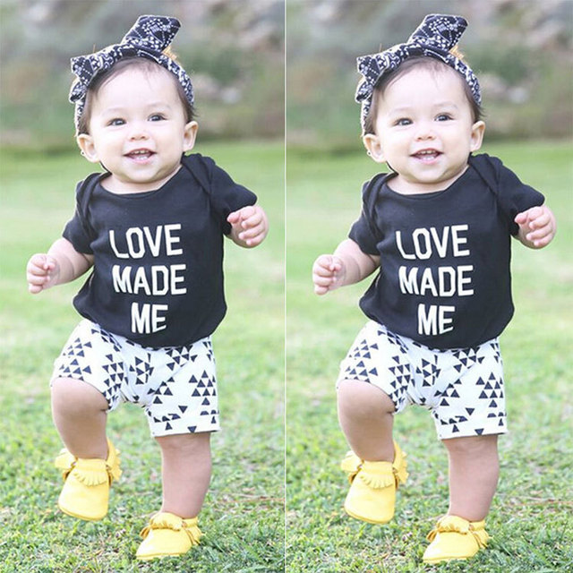 2015 Baby Clothes cotton Baby Clothing Set so beautiful kids cute outfit best choice for your baby wear headband pants