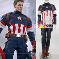 2016 Halloween Costumes adult new Captain America the Avengers Ultron Cosplay Costume superhero Steve Captain America