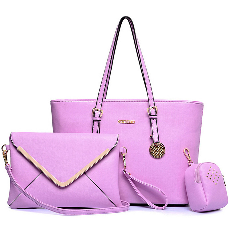 Top Selling 3Pcs/Set Messenger Bags Small Purse Bag Women Handbag Faux Leather Women Bags Luxury Picture Package<br><br>Aliexpress