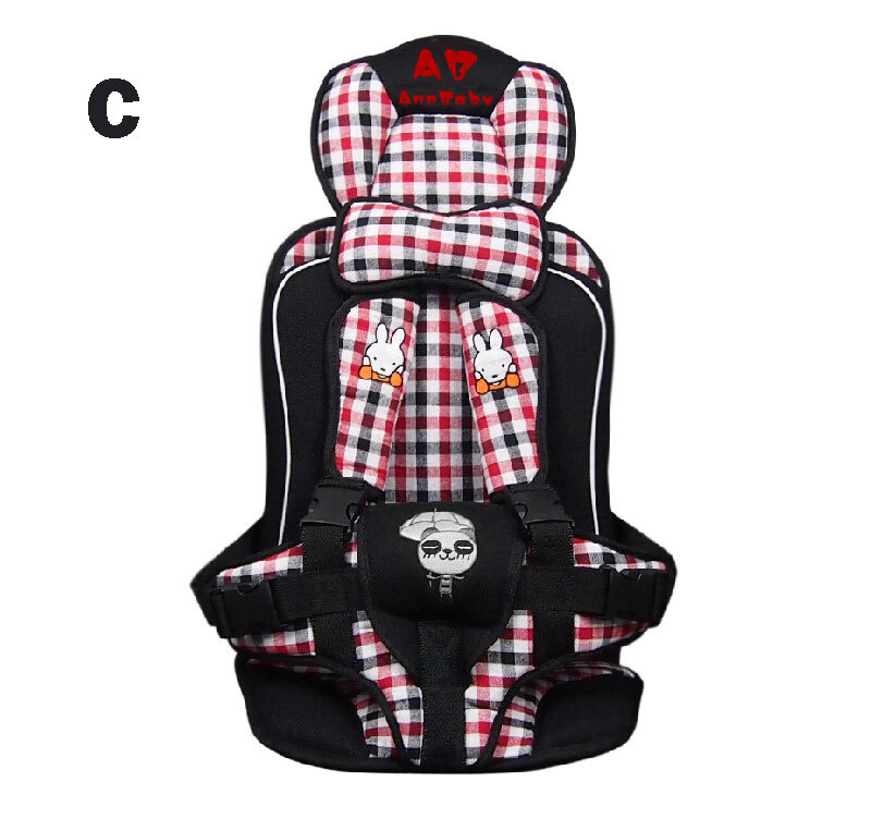 seat cover Car portable child safety seat baby car seat to baby seat 1-6 years old(China (Mainland))