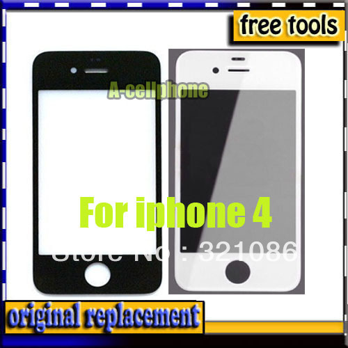 For Apple 100pcs/lot /iphone 4 4 g lcd For iPhone 4