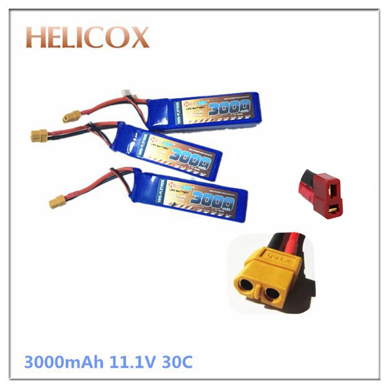 lipo battery lipo batteria 3000mah 3S 11.1v 30c max 60c AKKU for trex 500 450 3D rc plane helicopter fly li-ion lipo battery(China (Mainland))