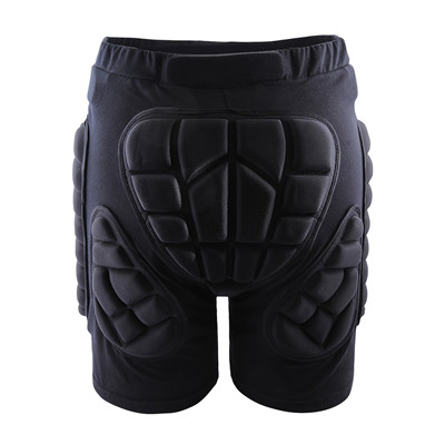 WOLFBIKE Hip Butt Protective Short Pad Ski Skate Snowboard Skiing Shorts Roller Padded Protection Gear Racing body armor Black(China (Mainland))