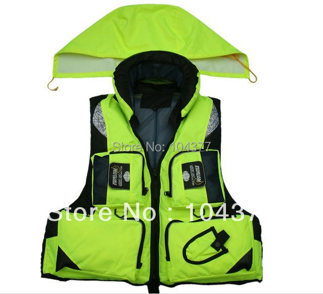 Professional life jacket fishing multi-pocket vest the disassemblability life vest