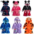 Children-Pajamas-Bathrobe-baby-boy-girl-dressing-gown-flannel-nightgown-kids-winter-sleepwear-hooded-robe-Cartoon.jpg_120x120 New Baby Boys Girls Pajamas Autumn Winter Children Flannel Animal funny animal Stitch panda Pajamas Kid Onesie Sleepwear